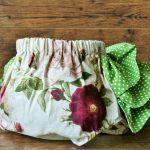 Rózsás pelenkabugyi zöld