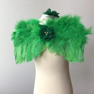 Tollas angyalszárny zöld