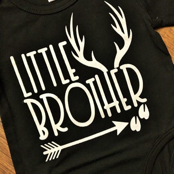 Fiú testvér pólók fekete