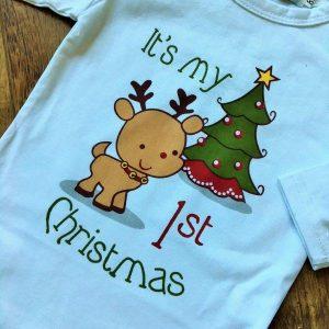 Hosszú ujjú My 1st Christmas body