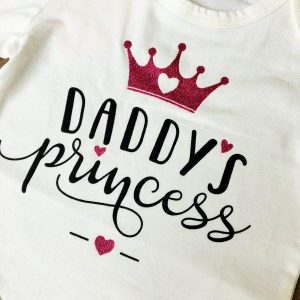 Daddy's princess szett