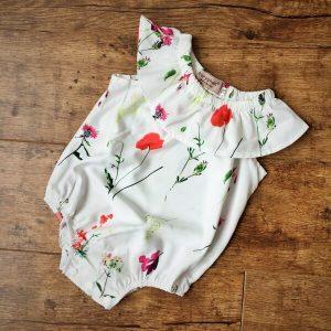 pipacsos gyermek napozó ruha