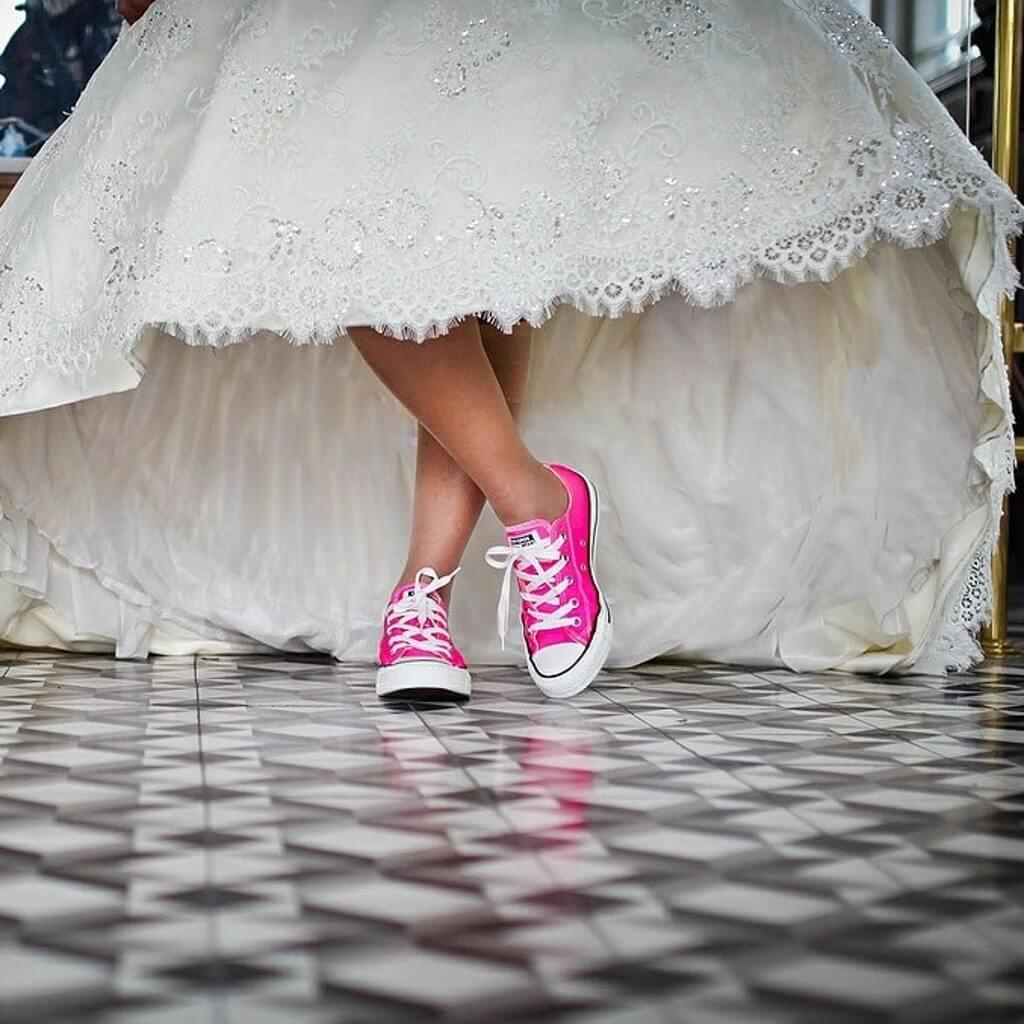 tornacipős esküvő