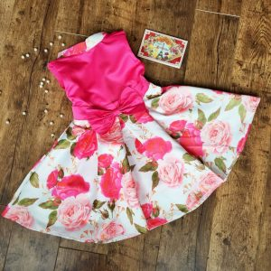 Zsófi alkalmi kislány ruha rózsás