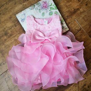 Barbi alkalmi kislány ruha rózsaszín