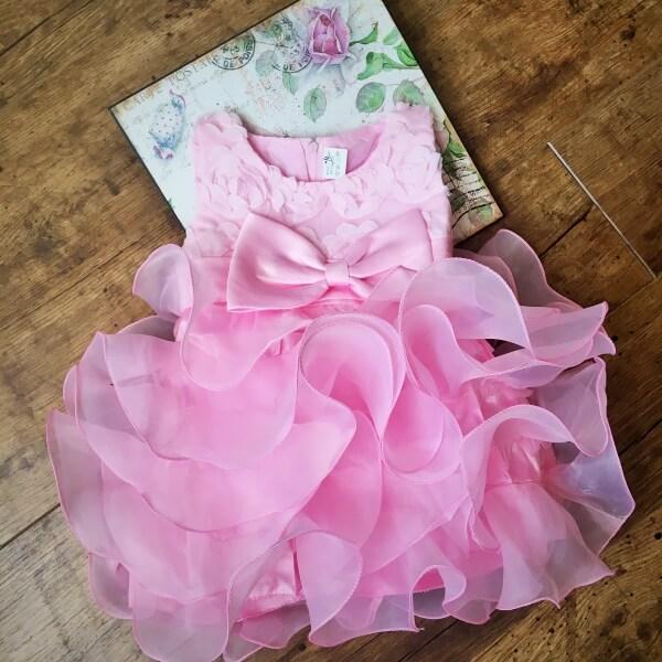 Barbi alkalmi kislány ruha rózsaszín a8364f835e