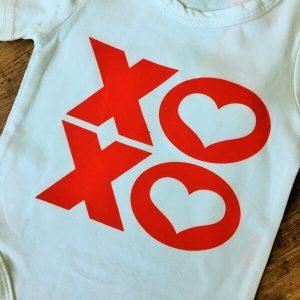 XOXO szives kislany szett labszarvedovel