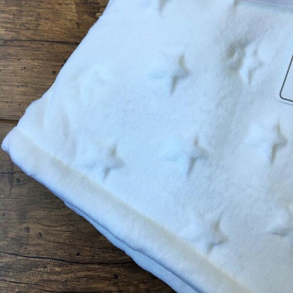 Fehér minky vastag takaró